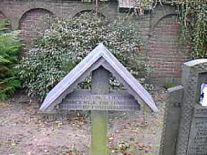 Dutch roofed cross